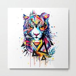 LION--ART Metal Print