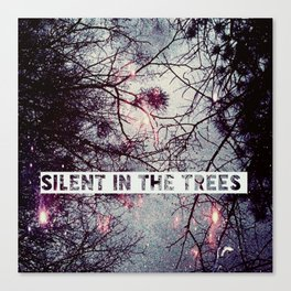 Silent In The Trees Canvas Print