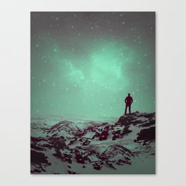 Lost the Moon While Counting Stars II Canvas Print