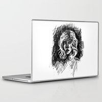 salt water Laptop & iPad Skins featuring Salt by Kate Plourde