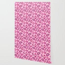 Pink Agate Pattern Wallpaper