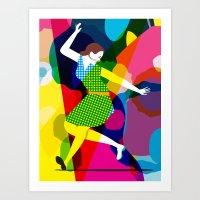 Tap Dancer Like No Other Art Print