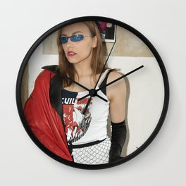 Devil is Fine Wall Clock