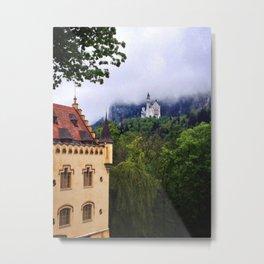 Hohenschwangau Metal Print