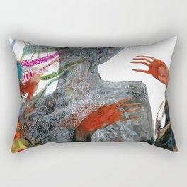 with my voice i'm calling you Rectangular Pillow