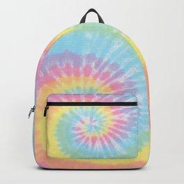 Pastel Tie Dye Backpack