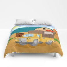 TRUCK (GROUND VEHICLES) Comforters