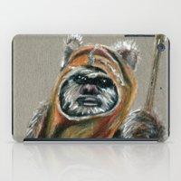 ewok iPad Cases featuring Ewok by Sam Luotonen