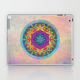 The Flower of Life variation Laptop & iPad Skin