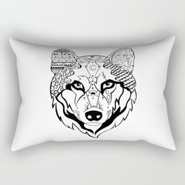 Sonya The Wolf Rectangular Pillow