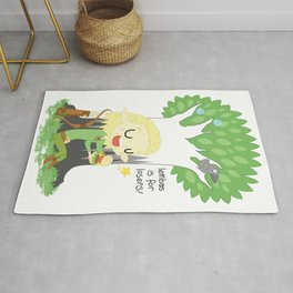 Lembas is for Losers Rug