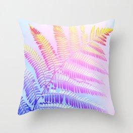 Hello Candy Fern! #foliage #homedecor #lifestyle Throw Pillow