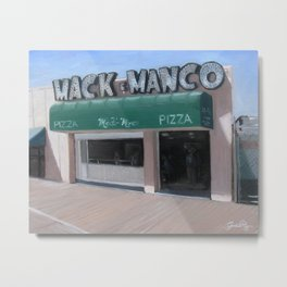 Mack and Manco Metal Print