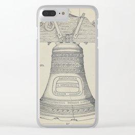 Fontainbleau Plantation Bell - Thomas Byrne - Vintage Architecture Clear iPhone Case