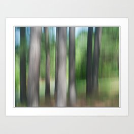 Whispering Pines 1 Art Print
