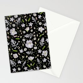 Leaves and flowers (10) Stationery Cards