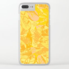 Summer overlay Clear iPhone Case