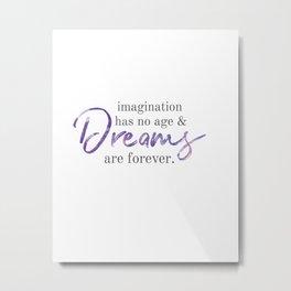 imagination and dreams Metal Print