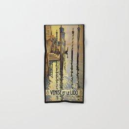 Vintage poster - Venise et le Lido Hand & Bath Towel