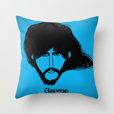George. Throw Pillow