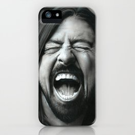 'Grohl In Black III' iPhone Case