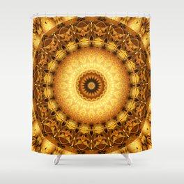 Mandala Star dust 2 Shower Curtain