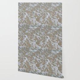 Foam of the ocean Wallpaper