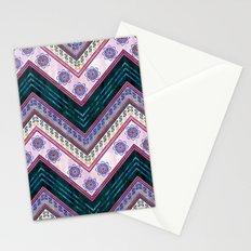 Serenity Chevron {3C} Stationery Cards
