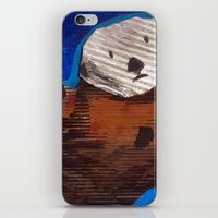 otter iPhone & iPod Skins featuring Otter by Cre8tive Papier
