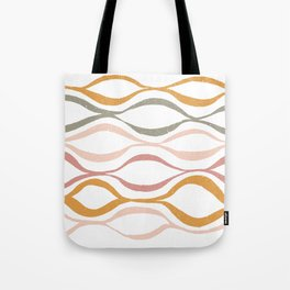 Catch the Wave (Blush) Tote Bag