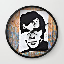 """""""HERE'S TO THE CRAZY ONES""""/Jack Kerouac Wall Clock"""