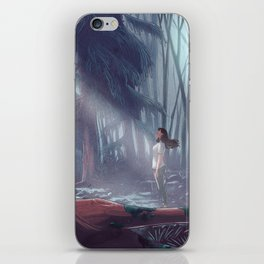 How to be a Werewolf: Malaya in the Forest iPhone Skin