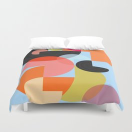 Abstract Composition 624 Duvet Cover