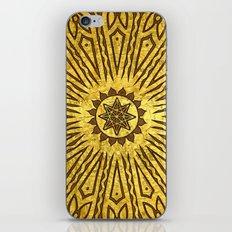 ozorahmi copper mandala iPhone & iPod Skin