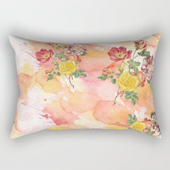 Ring a ring o' roses Rectangular Pillow