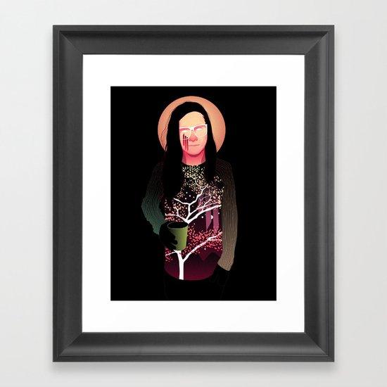Skrillex Framed Art Print