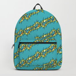 Teal Centi Stripe Backpack