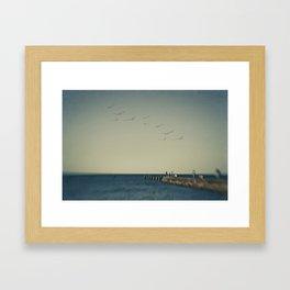 Sunday Afternoon Framed Art Print