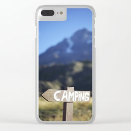 The Scenic Route Clear iPhone Case