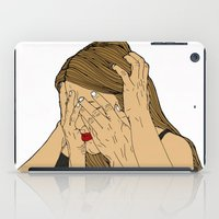 introvert iPad Cases featuring Introvert 6 by Heidi Banford