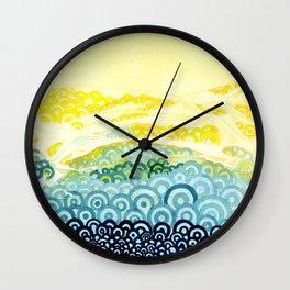 Seigaiha Series - Embrace Wall Clock