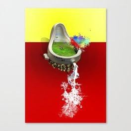 Island Duchamp Canvas Print