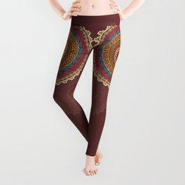 Aztec ornament Leggings