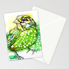 Australian Green Catbird  Stationery Cards