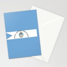 flag of Corrientes Stationery Cards