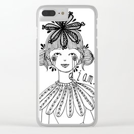 I am. Clear iPhone Case