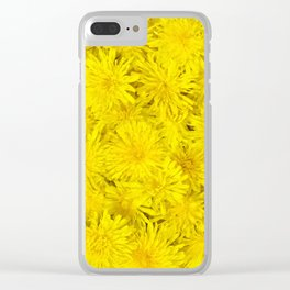Dandelions Are Underrated Clear iPhone Case