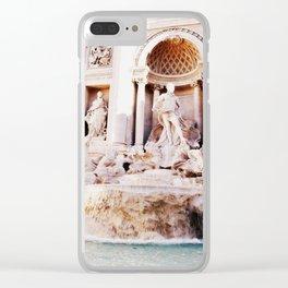 Poseidon's Fountain Clear iPhone Case