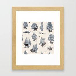 Where They Belong - Winter Framed Art Print