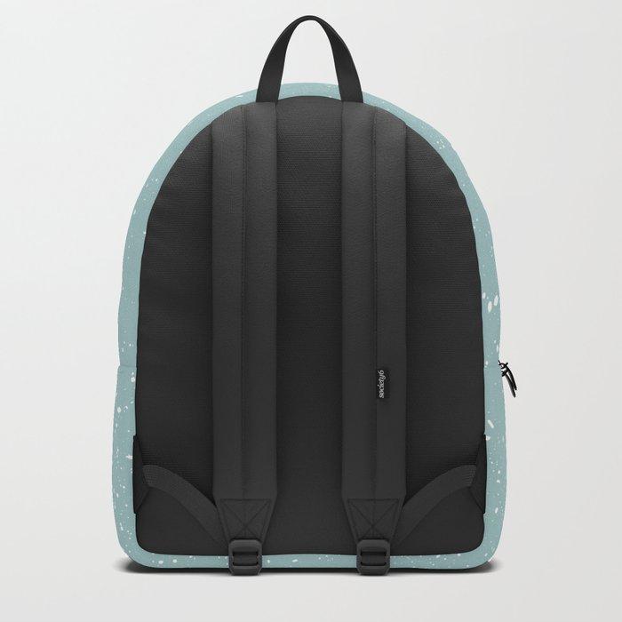 Snowfall paint splatter Backpack